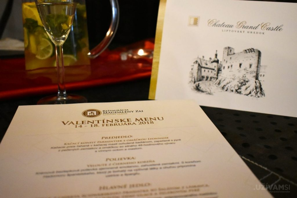 Kráľovská romantika na Valentína v Chateau GrandCastle ****