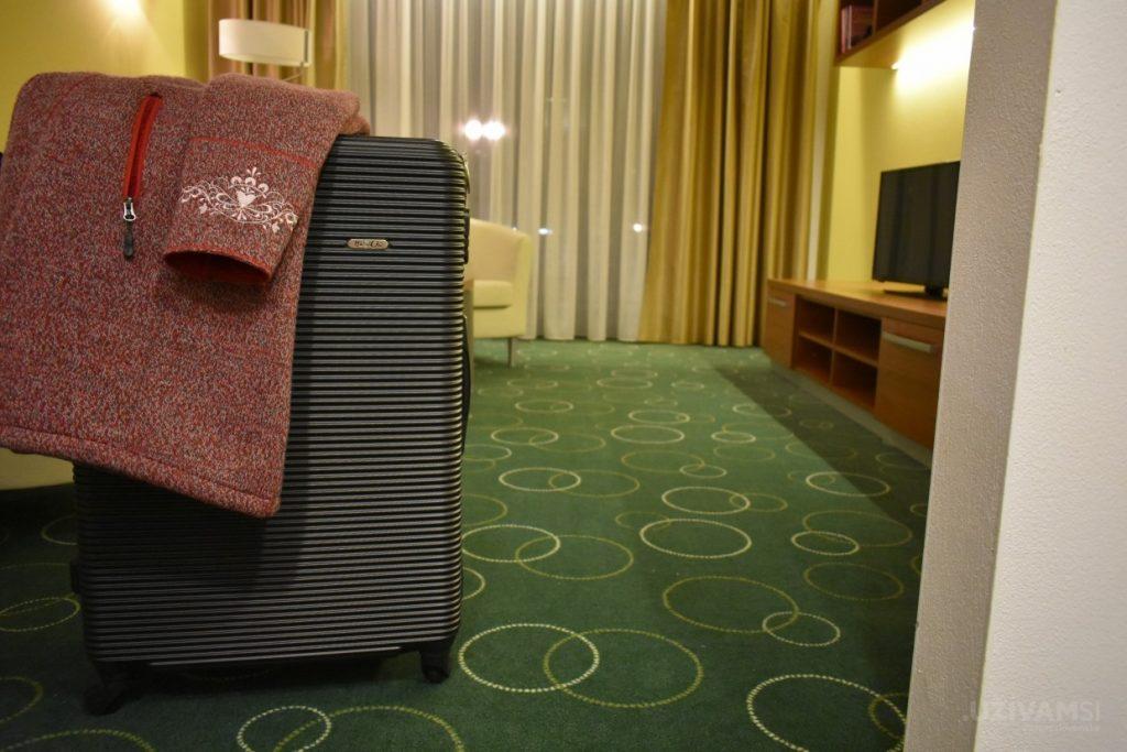 Wellness hotel Panorama **** - kabátik Benesport a HaChi kufor