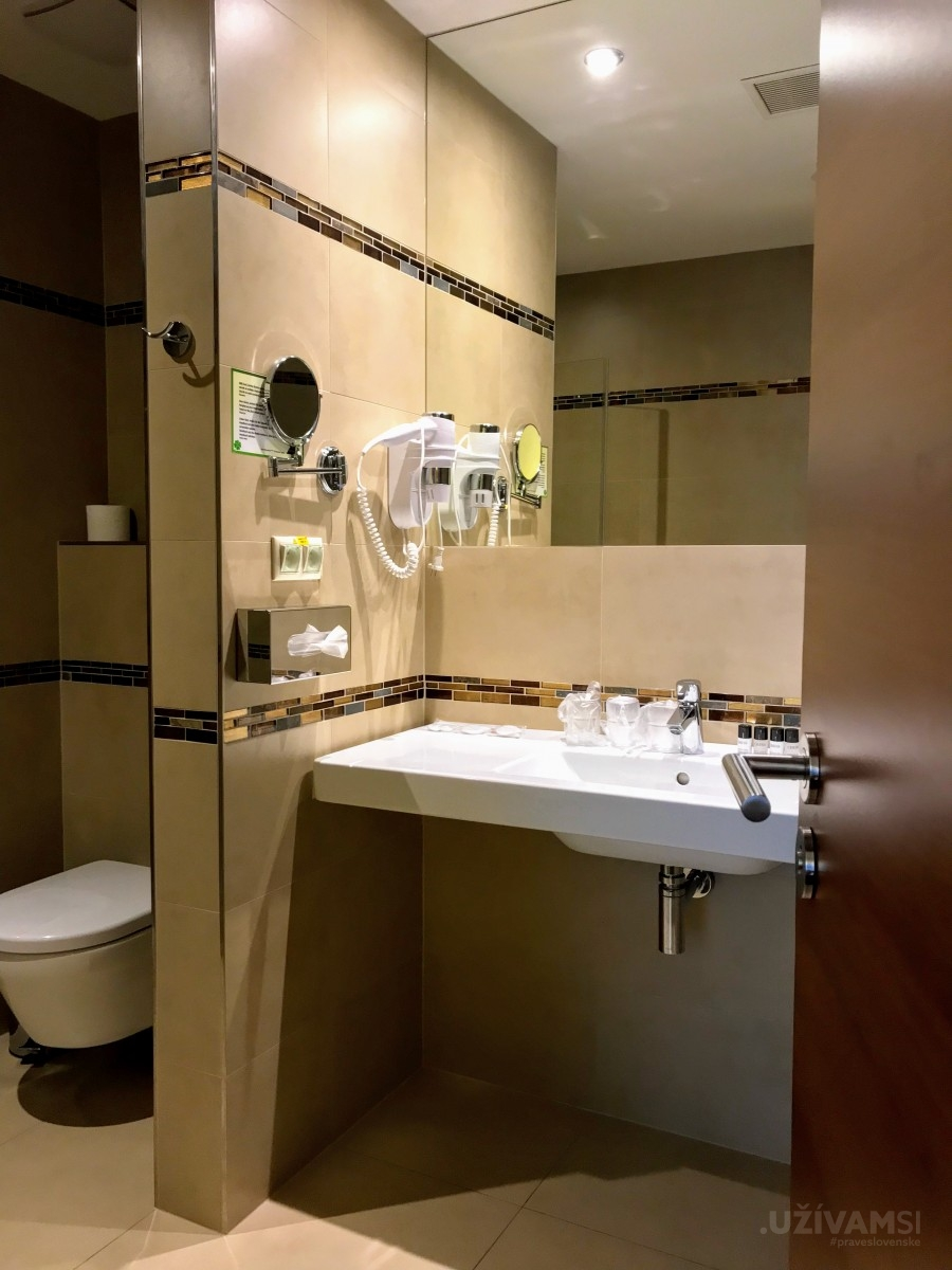 Wellness hotel Panorama **** - kúpeľňa