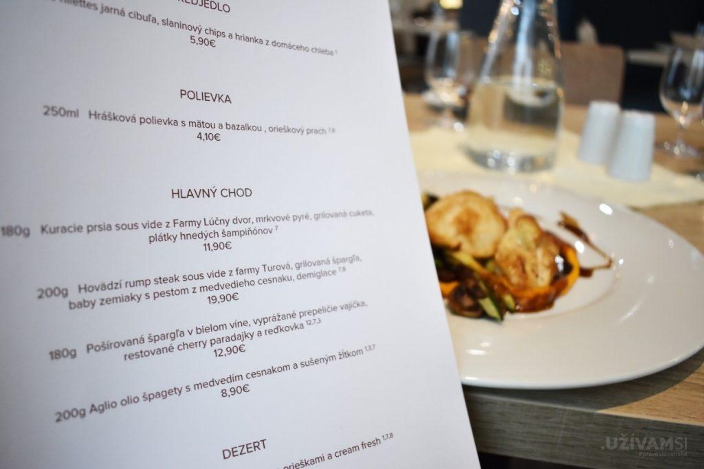 Hotel Salamandra **** - Jarné menu