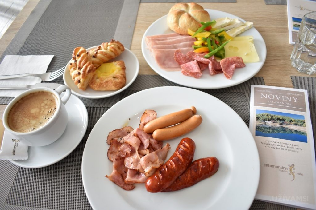 Hotel Salamandra **** - raňajky