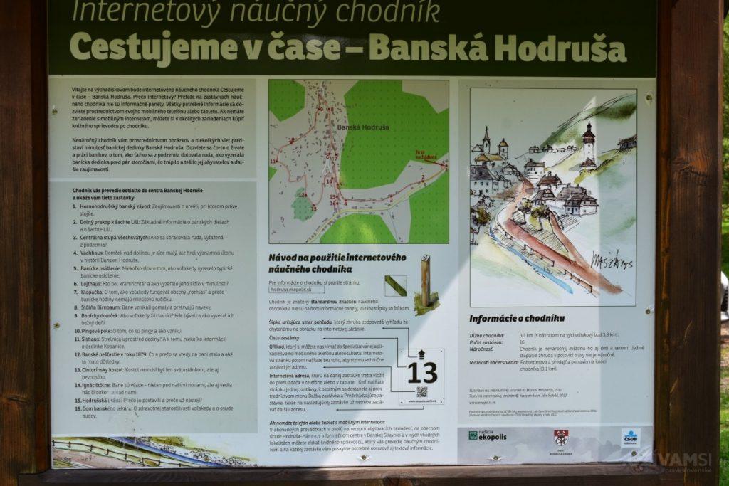 Hodruša Hámre - Internetový náučný chodník