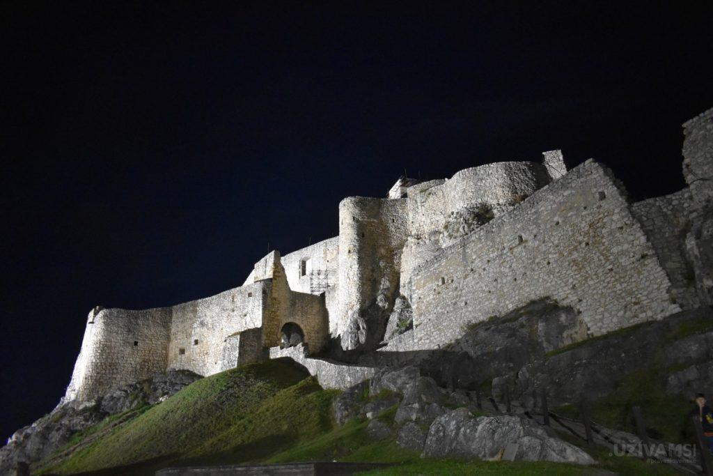 Tajomná noc na Spišskom hrade