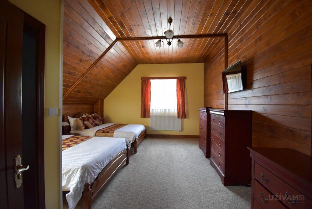Mountain Resort Chalets - spálňa č.1