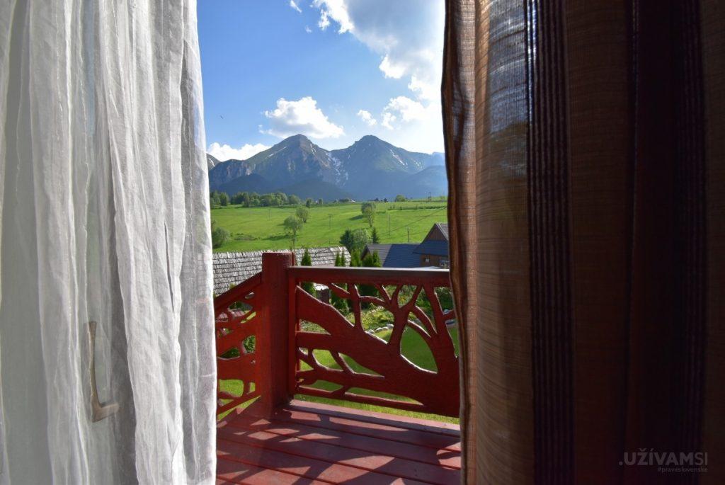 Mountain Resort Chalets - balkón