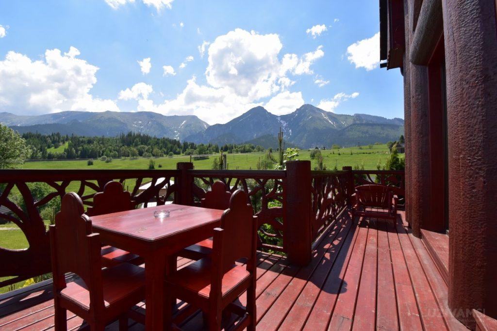Mountain Resort Chalets - terasa