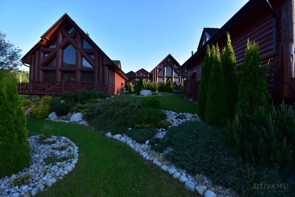 Mountain Resort Chalets - západ slnka