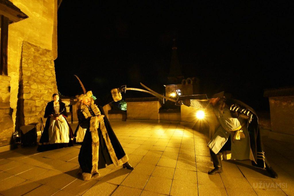 Noc krvavej grófky na Oravskom hrade